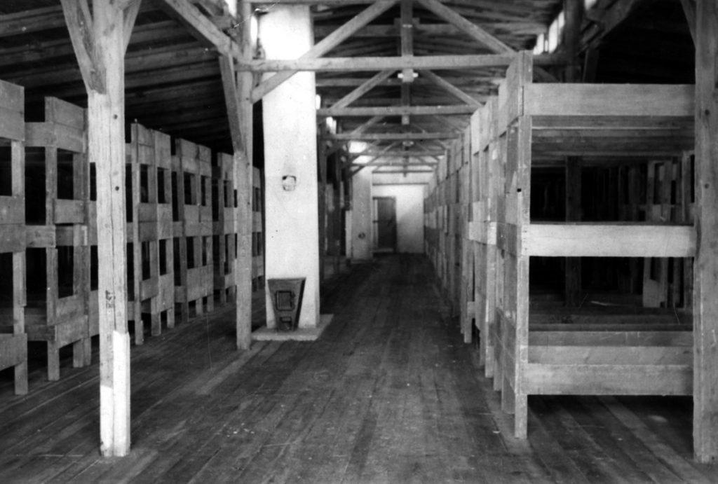 Wnętrze baraku, PMM
